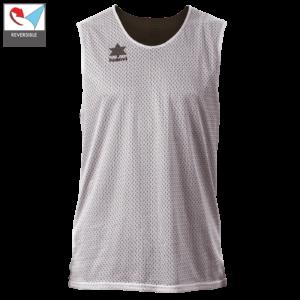 Double face basket shirt Triple black-white