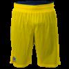 Double face basket bermuda Triple Royal-yellow