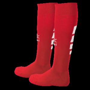 08482 TIRO Κάλτσα ποδοσφαίρου red white