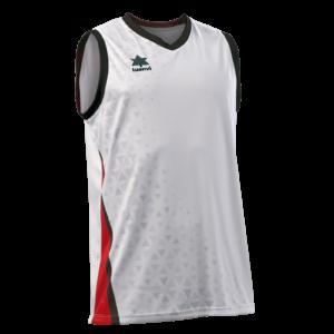 Basket Shirt Cardiff White-Red