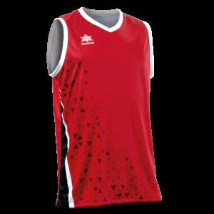 Basket Shirt Cardiff Red-Black